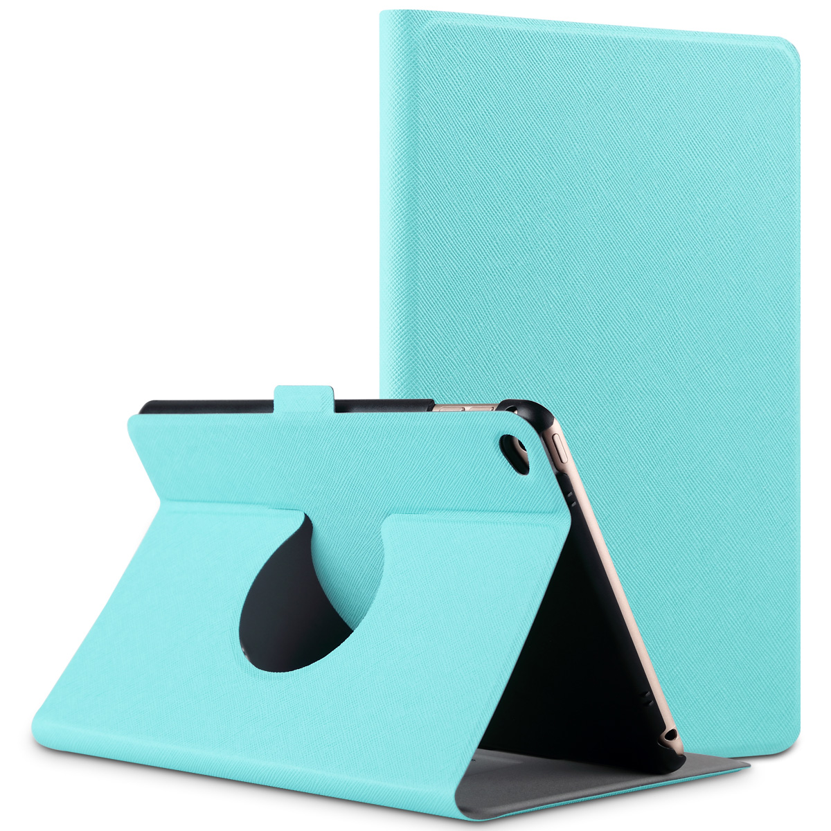 ULAK iPad Mini 4 Case 360 Degree Rotating Ultra Thin Stand Case Cover with Auto Wake / Sleep (Fits ONLY iPad Mini 4 4th Generation 2015 Release)