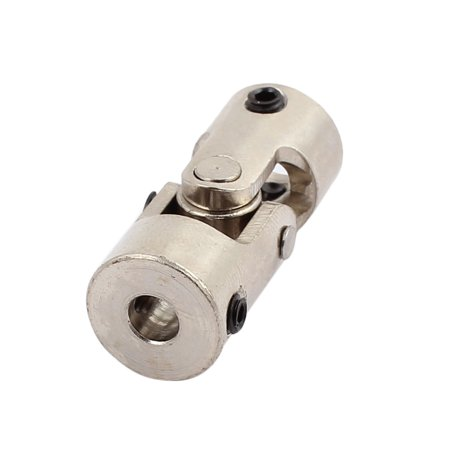 5.0mm to 8.0mm Inner Dia Rotatable Universal Steering Shaft U Joint Coupler 2pcs - image 1 of 3