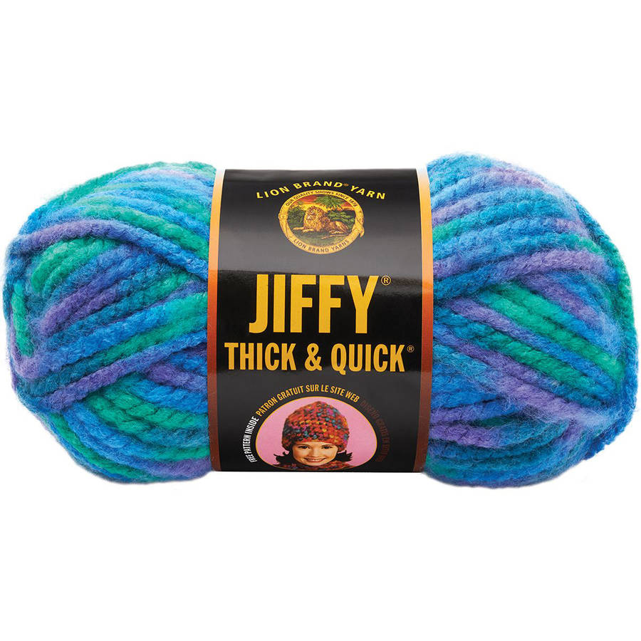 Lion Brand Jiffy Thick and Quick Yarn
