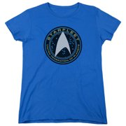 Star Trek Beyond Starfleet Patch Womens Short Sleeve Shirt
