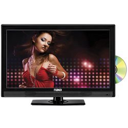 NAXA NTD1553 16 HD LED TV with Built-In Digital TV Tuner  USB/SD Inputs & DVD Player