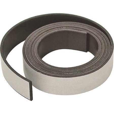 Master Magnetics 07053 Flexible Magnetic Tape, 30 in L X 1 in W X 0.06 in (Flexible Magnetic Tape)