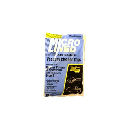 Hoover Type S Anti Bacterial Vacuum Cleaner Bags 10 Pack Fits