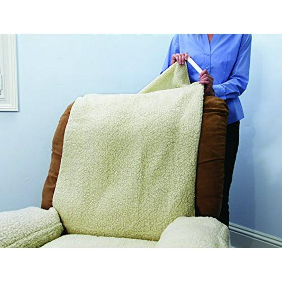 As Seen On Tv Snuggle Up Poly Fleece Comfort Cover Beige Walmartcom