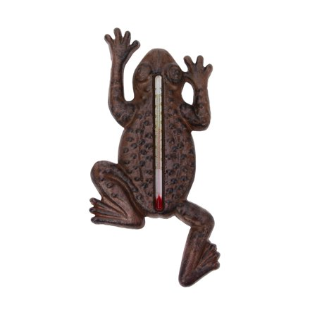 Garden Frog Indoor/Outdoor Thermometer Outside Temperature Gauge Home Wall