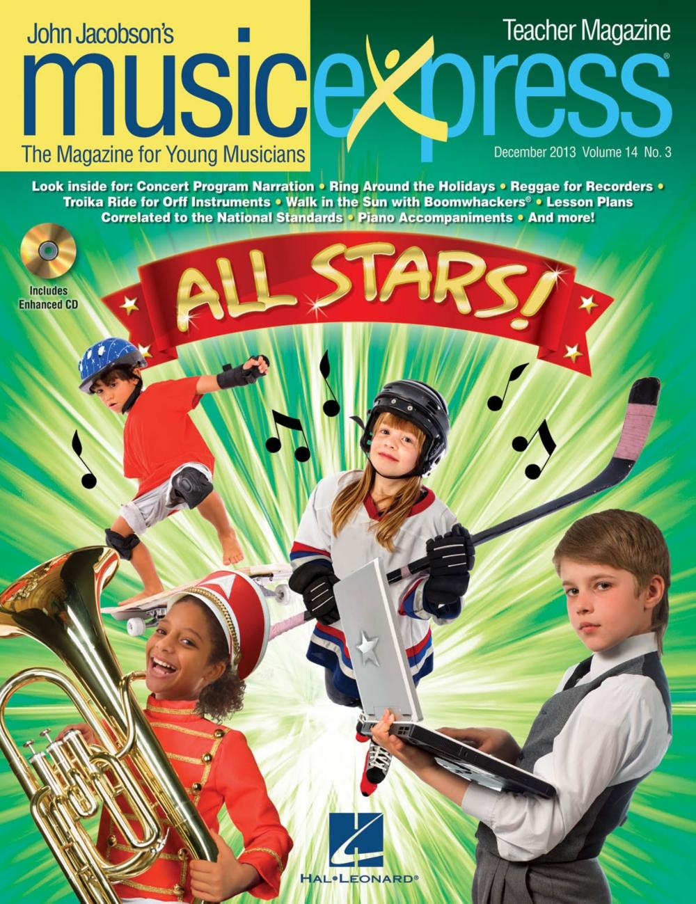 Hal Leonard All Stars Vol. 14 No. 3 (December 2013) Teacher Magazine w CD by Owl City... by Hal Leonard