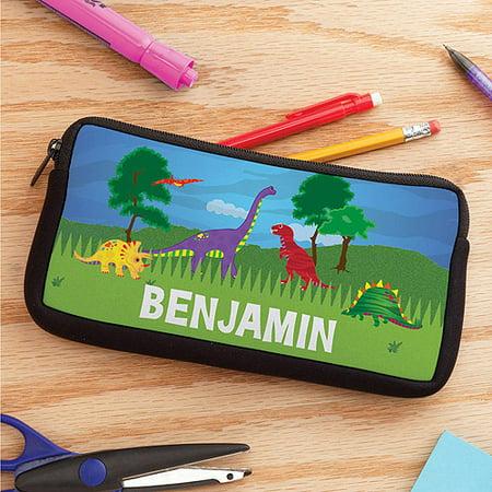 Personalized Dinosaur Kids Pencil Case - Personalized Pencil Case