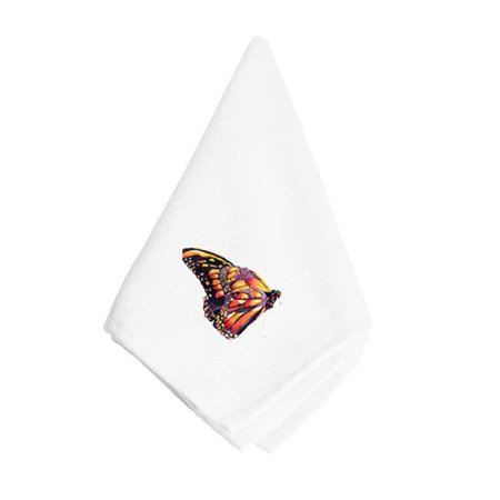 Carolines Treasures 8858NAP Black And Orange Butterfly Napkin