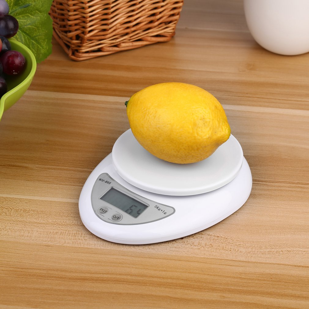 Ktaxon 5kg /1g Electronic Digital Kitchen Food Diet Balance Weighing Scale