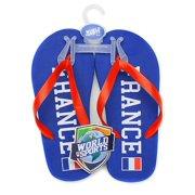World of Sports Flip-Flops - France - X-Large