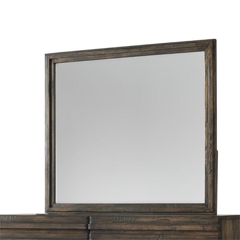 Modus Delfina Solid Wood Mirror in Sahara by Modus Furniture