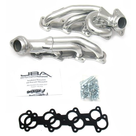 - JBA Headers 1687SJS for 04-08 F150 4.6L Silver Ceramic Coating