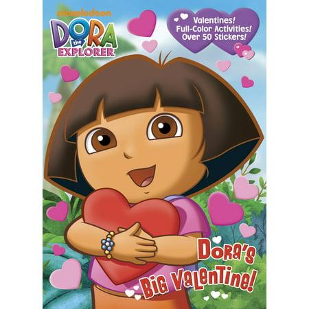 Dora The Explorer Halloween Colouring Pages (Dora's Big Valentine! (Dora the)