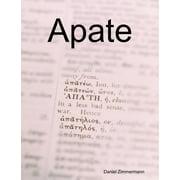 Apate - eBook