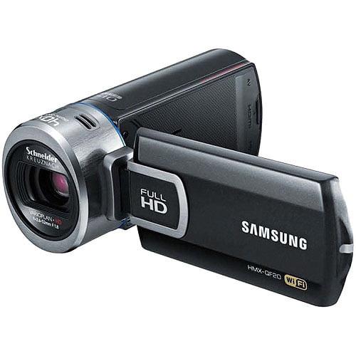 "Samsung HMX-QF20BN Black Full HD Camcorder w/ 20x Optical Zoom, 2.7"" LCD Display, Built-in WiFi"