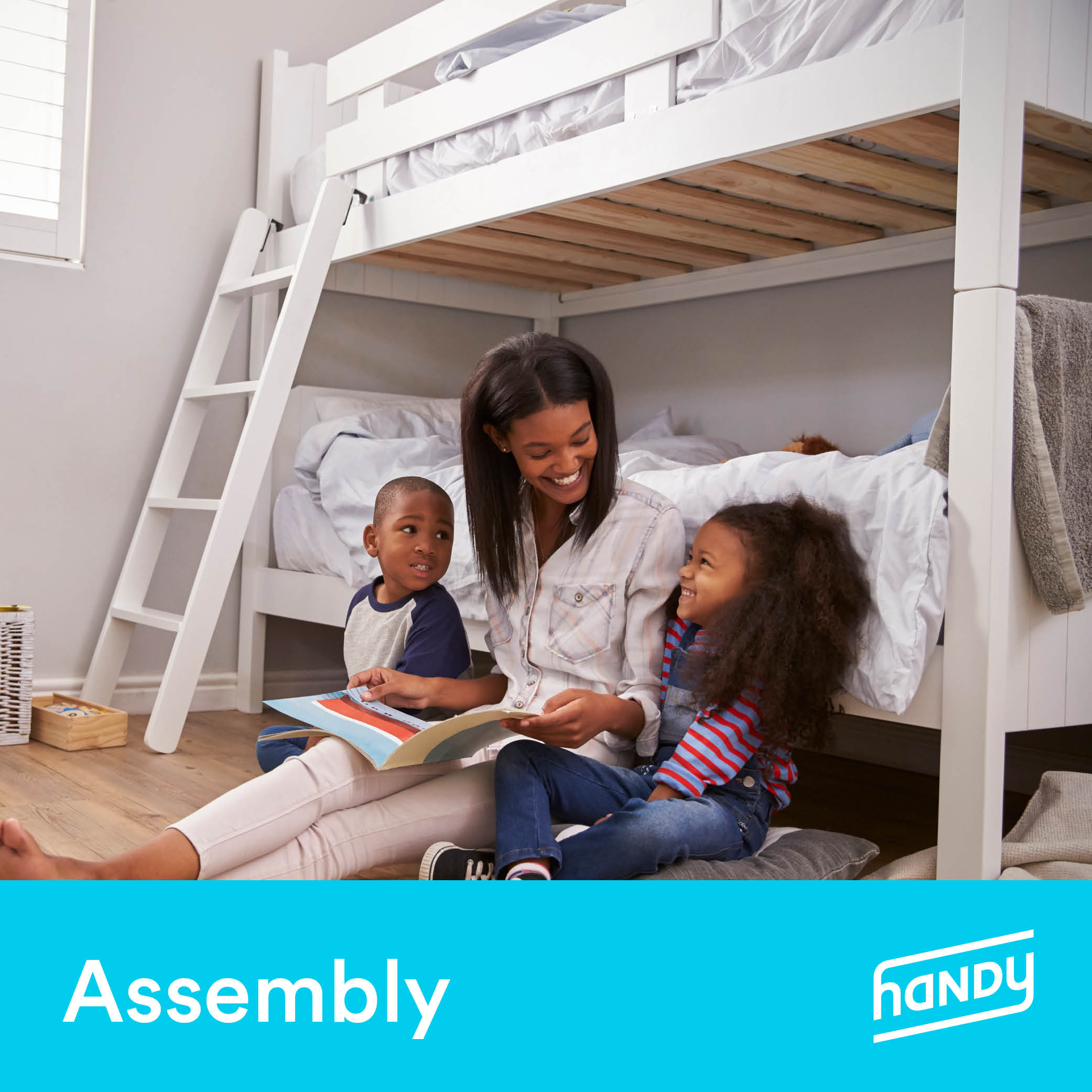Bunk Bed Assembly by Handy