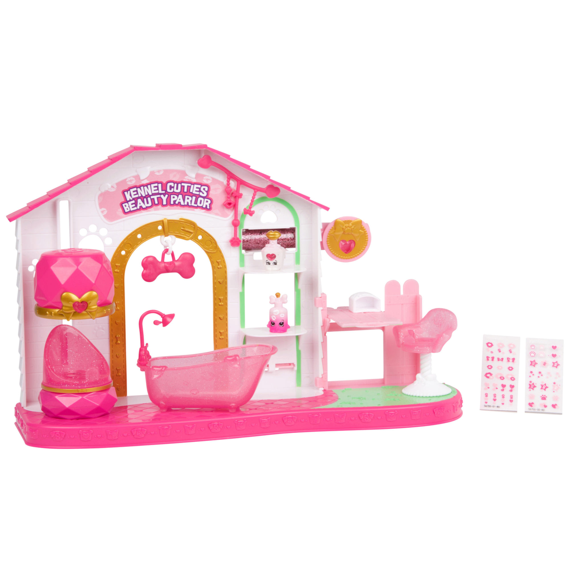 License 2 Play - Shopkins Series 9 Playset, Kennel Cuties Beauty Parlor