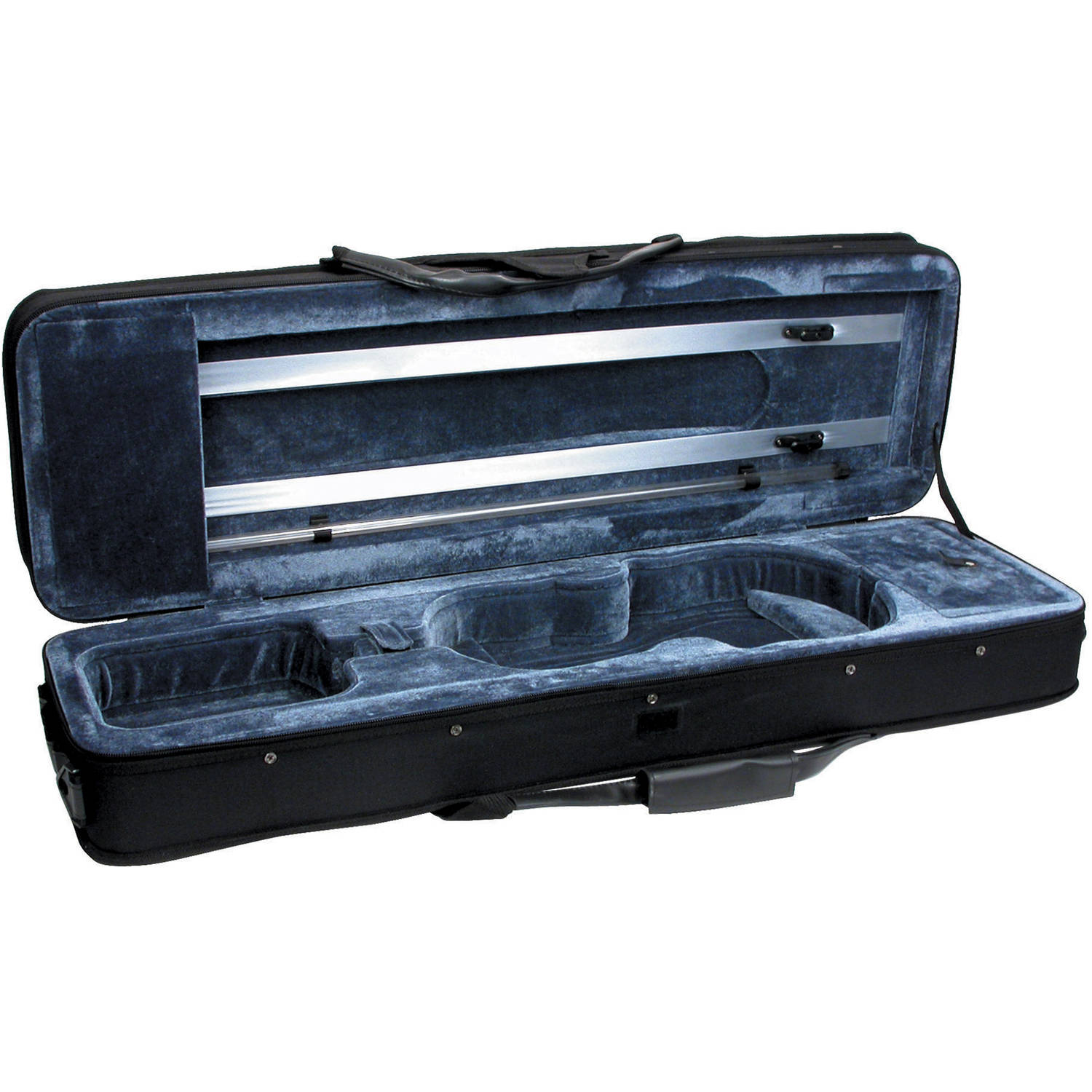 Featherweight C-3960 Deluxe Violin Case, Rectangular, 4/4 Size