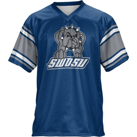 Oklahoma State Cycling Jersey (Men's Southwestern Oklahoma State University End Zone Football Fan Jersey)