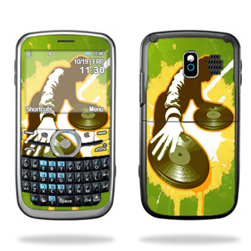 Mightyskins Protective Skin Decal Cover for Pantech Link P7040 Cell Phone wrap sticker skins Sonic DJ