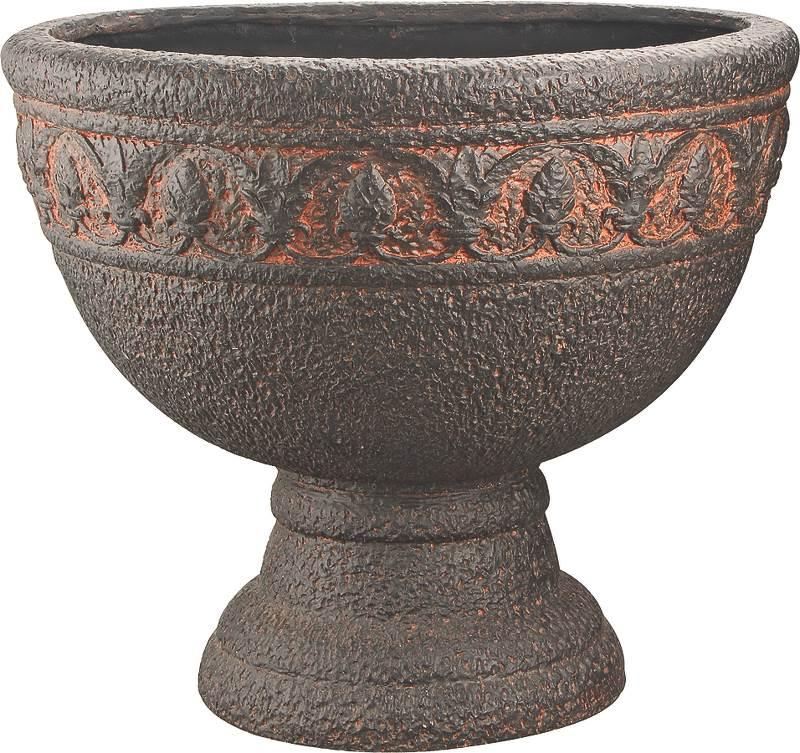 Mintcraft PT-023 Planters, Urn, Aged Bronze, 17-1 2 x 15 Inch by Mintcraft