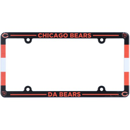 Chicago Bears Stadium Plastic License Plate Frame - No Size (Tower Place Chicago)