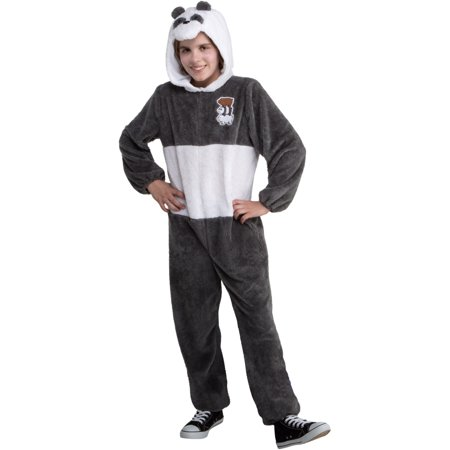 We Bare Bears Panda Onesie Teen Costume - Panda Bear Costume Toddler