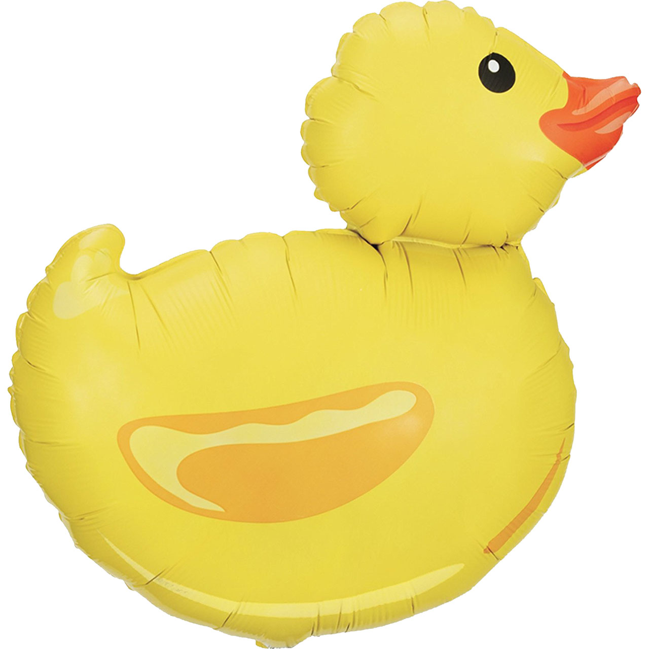"Duck 29"" Yellow Rubber Ducky Super Shape Mylar Foil Baby Shower Welcome Party"