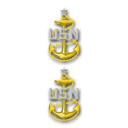 US Navy Senior Chief Petty Officer Decal Sticker (Officer Br Sticker)