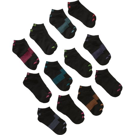 Avia Ladies Performance Liner No Show Socks, 12 Pack