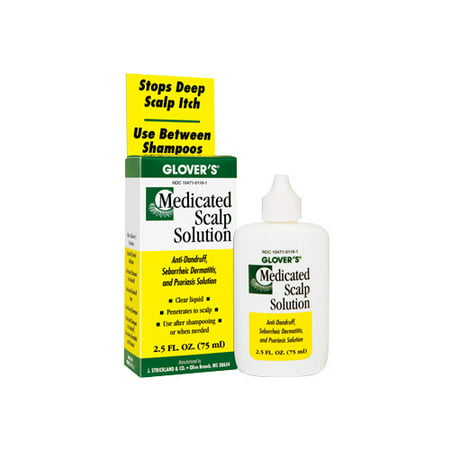 Glover's Medicated Scalp Solution 2.5 - Scalp Solution