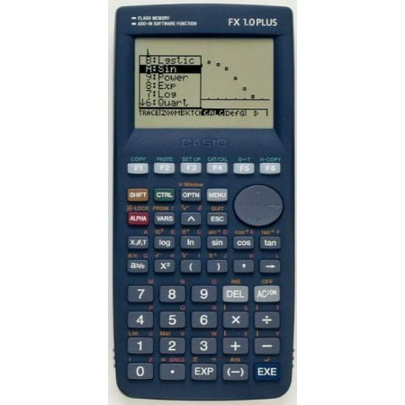 Casio Power Graphic Graphing Calculator Algebra Fx 1 0 Plus