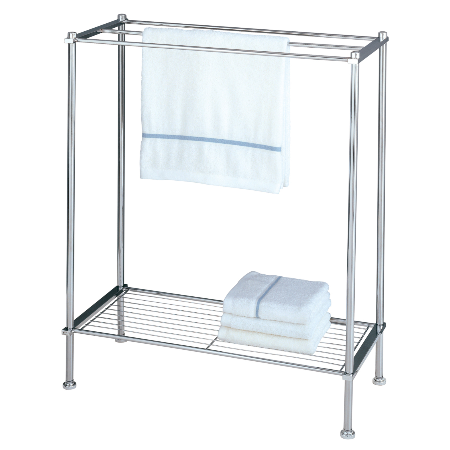 Organize It All 16986 Chrome Towel Rack Walmartcom
