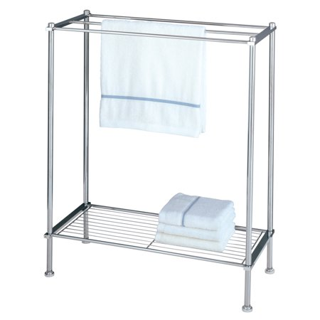 Floor Stand Towel Rack (Organize It All 16986 Chrome Towel)