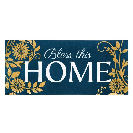 Evergreen Flag Sassafras Bless This Home Switch Mat Inserts Floor Mat Switch