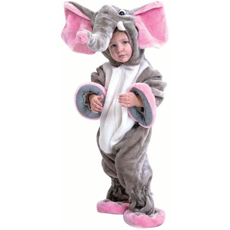 Elephant Toddler Halloween Costume Size 18-24M](Elephant Costume)