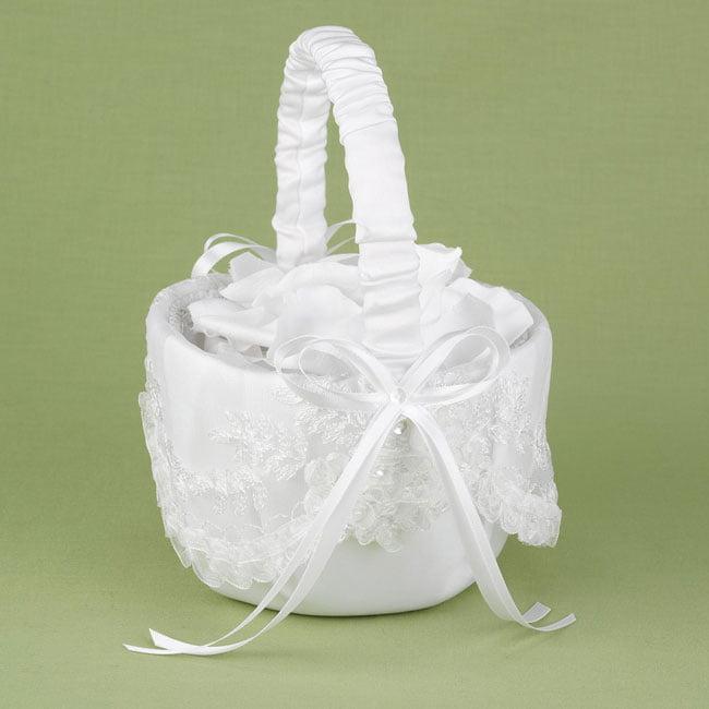 Sweetly Smitten Wedding Flower Girl Basket