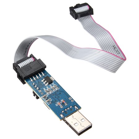 USB ISP Programmer Downloader For 51/ ATMega mini USB ISP Programmer Downloader /ATTiny/ AVR Download -