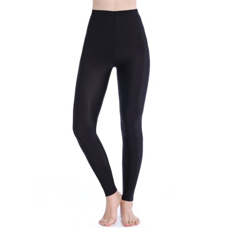 ff0de2459e1db3 SAYFUT - SAYFUT Women Basic Leggings Stretch Yoga Pants High Waist Tummy  Control Workout Fitness Yoga Trouser Black - Walmart.com
