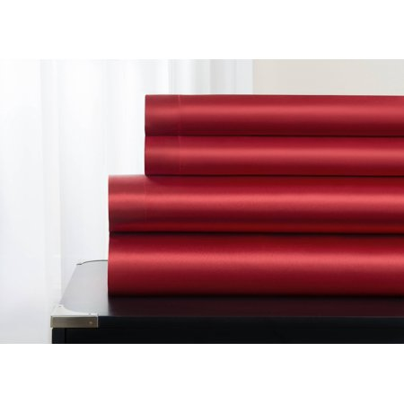 Majestic Excellence Luxuriously Soft Satin, 4 Piece Sheet (Cocoon Silk Travel Sheet)