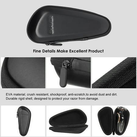 31742fabe044 Men Portable Electric Shaver Holder Case Rechargeable Razor Holder Box Male  Shaver Protector Travel Bag