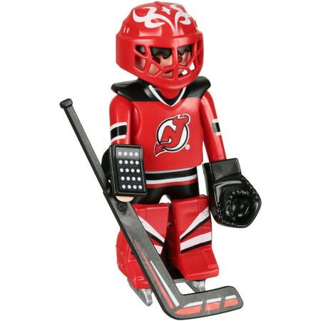 PLAYMOBIL NHL New Jersey Devils Goalie Figure