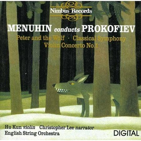 S. Prokofiev - Menuhin Conducts Prokofiev: Peter and Wolf; Classical Symphony; Violin Concerto No. 1 [CD] Complete Violin Concertos Cd