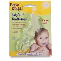 Baby Buddy Babys 1st Toothbrush TeetherInnovative 6-Stage Oral Care System Grows With Your ChildStage 4 for Babies/Todd