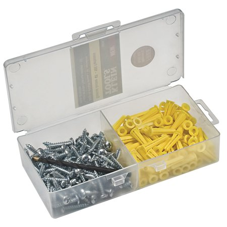 KLEIN TOOLS 53729 Conical Anchor Kit - 100 Anchors