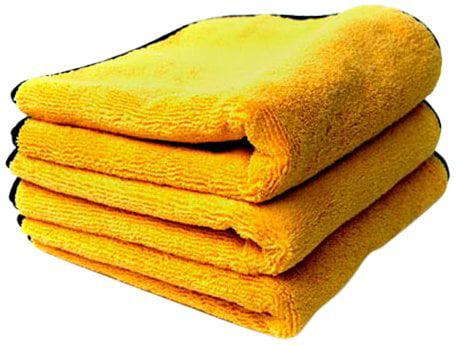 Gold... Chemical Guys MIC/_506/_12 Professional Grade Premium Microfiber Towels