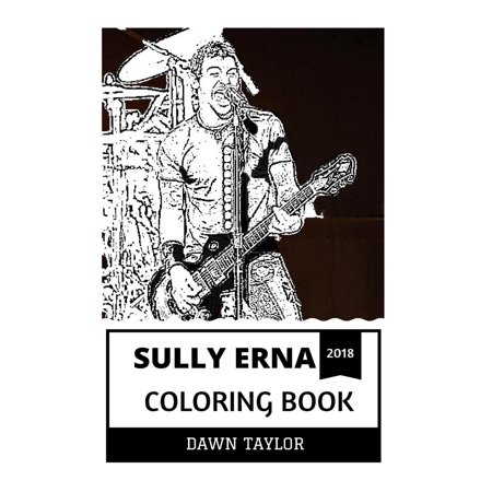 Sully Erna Coloring Book : Godsmack Frontman and Heavy Metal Legend ...