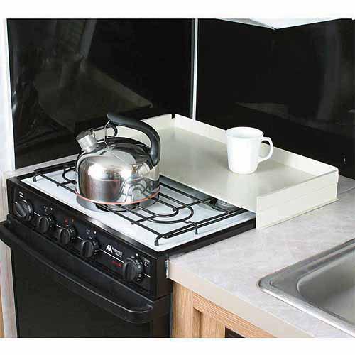 Camco Stove Top Cover, White, Universal Fit