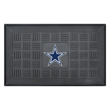 Fan Mats NFL Dallas Cowboys Medallion Door Mat