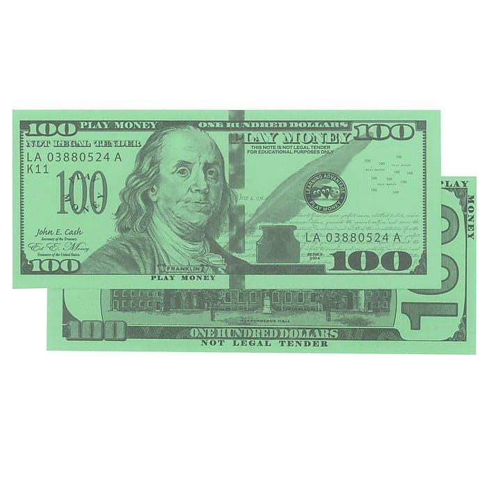 $100 BILLS SET OF 50